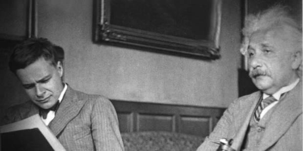Albert Einstein et Eduard