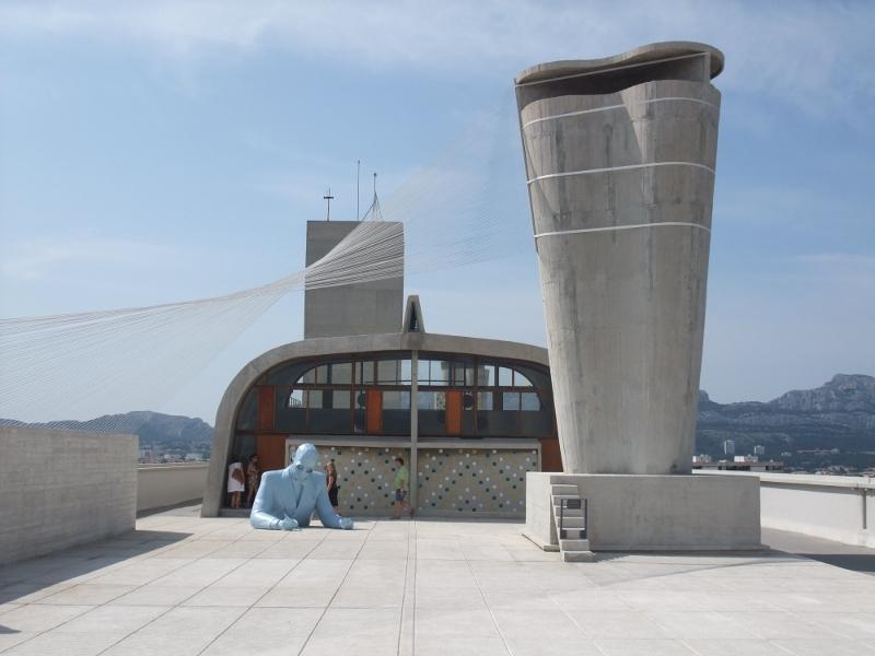 Xavier Veilhan, toit de la cité radieuse