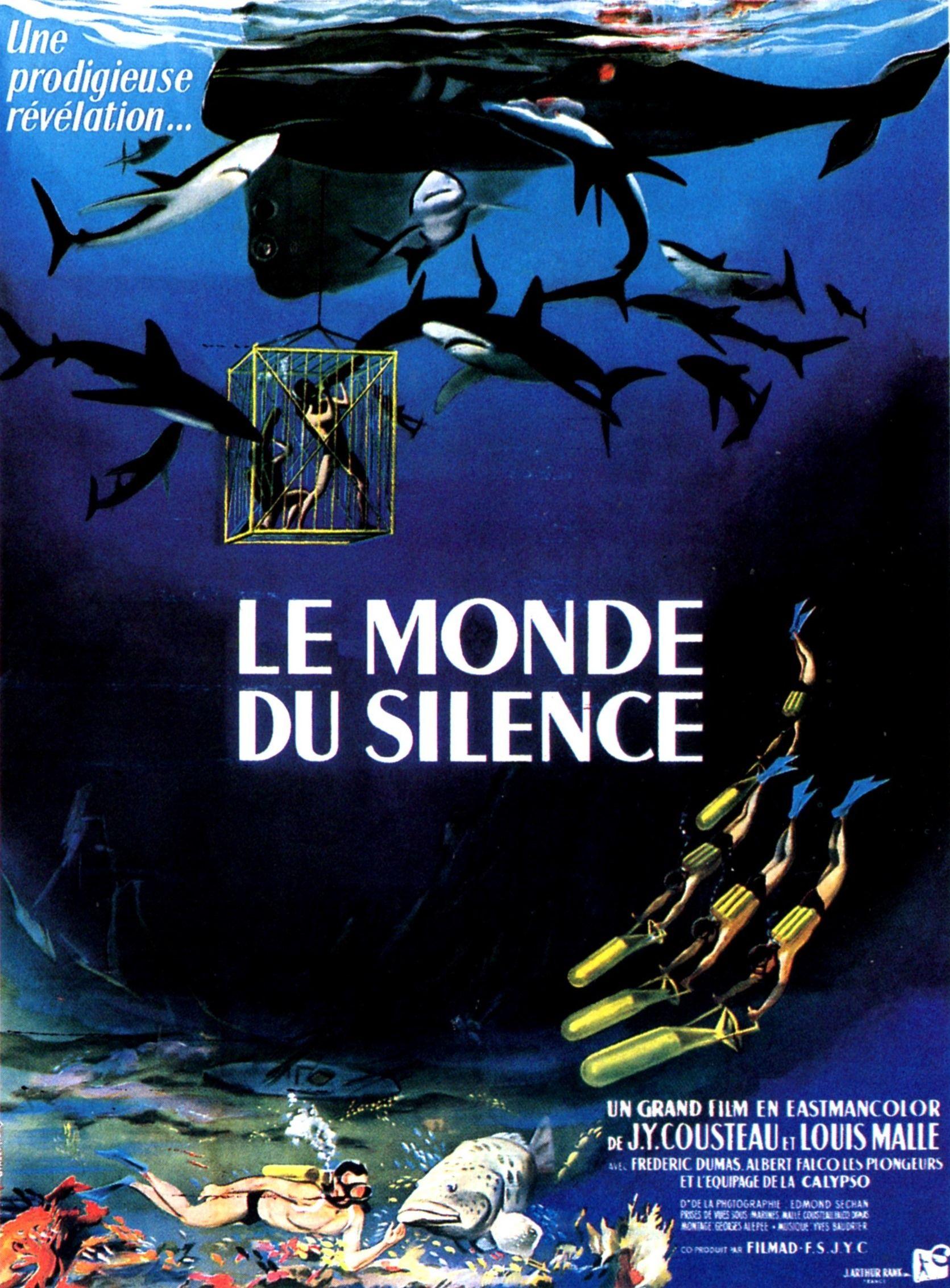 Affiche originale du Monde du Silence